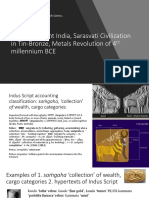 Role of Ancient India, Sarasvati Civilization in Tin-Bronze, Metals Revolution of 4th Millennium BCE