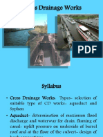 Cross Drainage Works