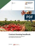 Contract Farming Handbook
