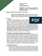 Modelo Apelacion Auto Revocatoria Omision a La Asistencia Familiar
