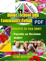 Home, School and Community Collaboration Report