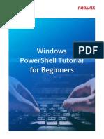Windows PowerShell Tutorial for Beginners.pdf