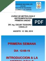 1ra Semana Metrologia e Instrume.
