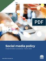 Social Media Procedures