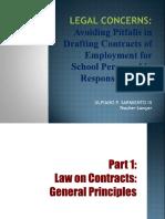 contracts school