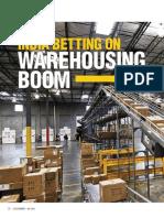 India Betting on Warehousing Boom
