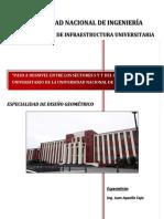 INFORME DISEÑO GEOMETRICO PASO DESNIVEL