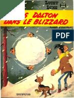 Morris, Rene Goscinny - Lucky Luke, Tome 22 _ Les Dalton Dans Le Blizzard (1986)