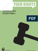 Know Your Rights Criminal Justice and Garda Powers