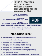 ISO 31010 New Standards for Risk Managament