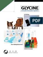 GEO Glycine Brochure