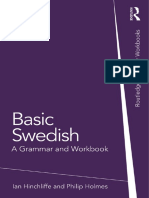 [Ian Hinchliffe, Philip Holmes] Basic Swedish