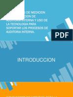 auditoria interna, indicadores de medición.