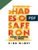 Shades of Saffron From Vajpayee to Modi