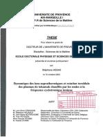 Dynamique Des Ions Suprathermiques Et Rotation Toroïdale Des Plasmas de Tokamak Chaffés Par Les Ondes à La Fréquence Cyclotronique Ionique