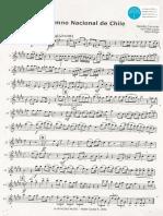 Himno Chile Clarinete en Sib