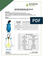 Avarus Data Sheet AVST A200CN