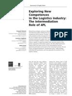 4PL intermediating