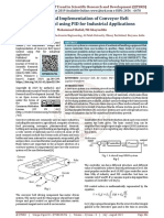 Design and Implementation of Conveyor Belt Speed Control using PID for Industrial Applications