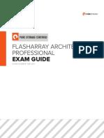 Flasharray Architect Professional Exam Guide