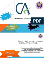PPT on Chartered Accountancy
