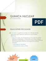 Quimica Nuclear