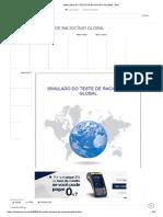 Simulado Do Teste de Raciocínio Global - PDF