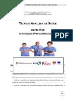 Manual TAS Ufcd 6558 - A Atividade Profissional Do Técnico Auxiliar de Saúde