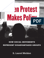 When Protest Makes Policy S. Laurel Weldon