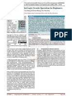 FPGA Based Digital Logic Circuits Operation for Beginners