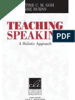 A Model for Teaching Speaking