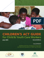 Children's Act Guide For Child and Youth Care Workers (2013)