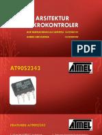 Arsitektur mikrokontroler AT90S2343