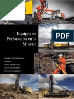 equipos mineros