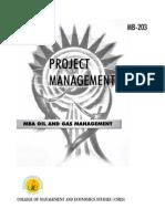 MB 203_Project Management