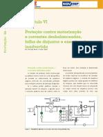 Capítulo VI - Proteção Contra Motorização e Correntes Desbalanceadas, Falha de Disjuntor e Energização Inadvertida