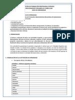 Guia de Aprendizaje. Comunicación 2.Docxlista