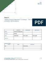 Consultation 007rec1004 Ecm Report on Safety Critical Components2017 Annex3 En