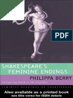 Shakespeare's Feminine Endings