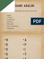 5 Tema Ng Heograpiya
