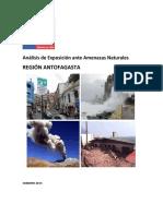 Análisis de Riesgos Naturales de Antofagasta, 2013