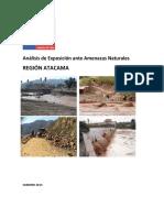 Region Atacama - Riesgos Naturales