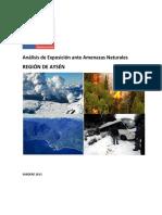Region Aysen - Riesgos Naturales