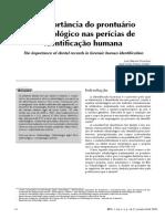 A importância do prontuário odontológico nas perícias de identificação humana.pdf