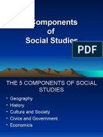 5 Branches of Social Studies