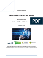 5G Architecture and Security Technical Report - 04Dec18