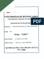 H 249 2002 Historia Economica Social Argentina Rapoport