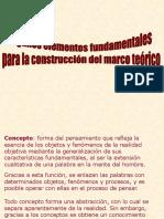 IV.1. Los Fundamentos Teóricos (Continuación)