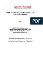 Indepth Financial and Accounting Policies and Procedures Manual 2010