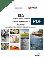 EIA Ferrovia Paraense Volume 1